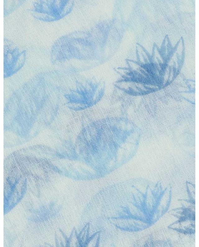 Écharpe fine imprimée fleurs de lotus Dotus HEMISPHERE