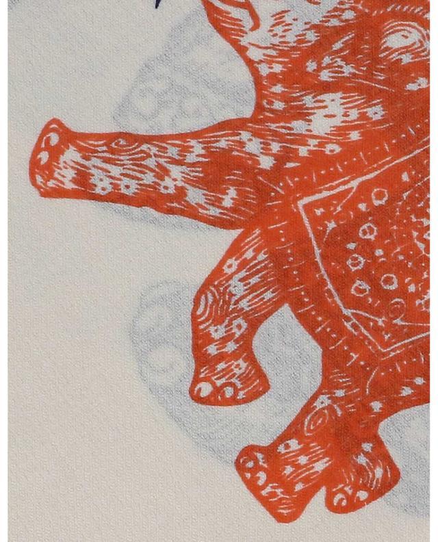 Écharpe imprimée éléphants et message Dumbo HEMISPHERE