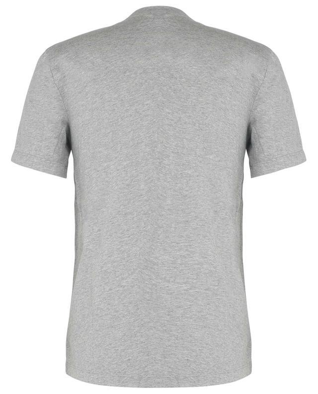 T-shirt chiné en coton manches courtes JAMES PERSE