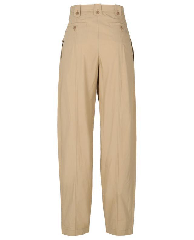 Loose tapered poplin trousers KENZO