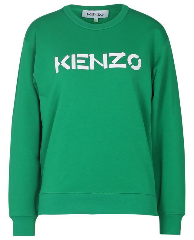 Sweat-shirt à col rond imprimé KENZO logo KENZO