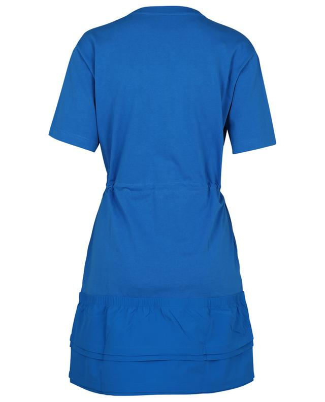 Robe T-shirt bi-matière courte Kenzo Sport Little X KENZO