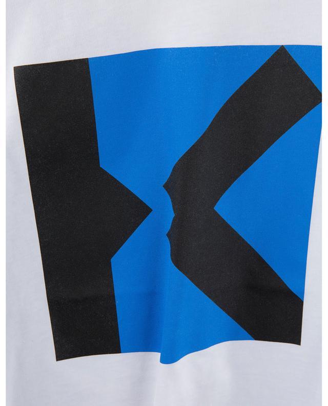 T-shirt boxy imprimé monogramme K KENZO