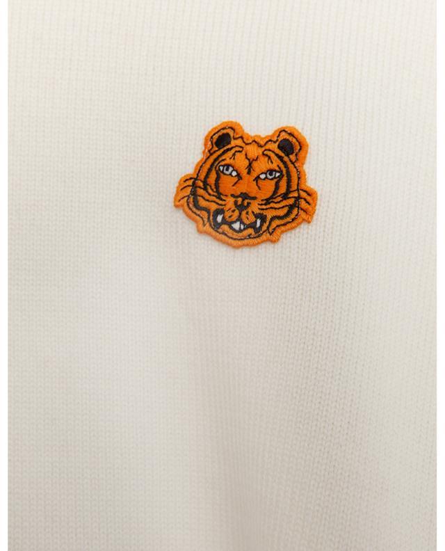 Pull en laine à col rond Tiger Crest KENZO