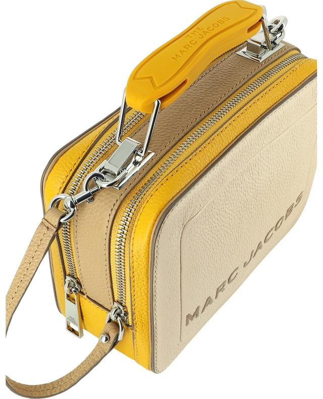 Sac à main en cuir grainé tricolore The Mini Box Bag MARC JACOBS