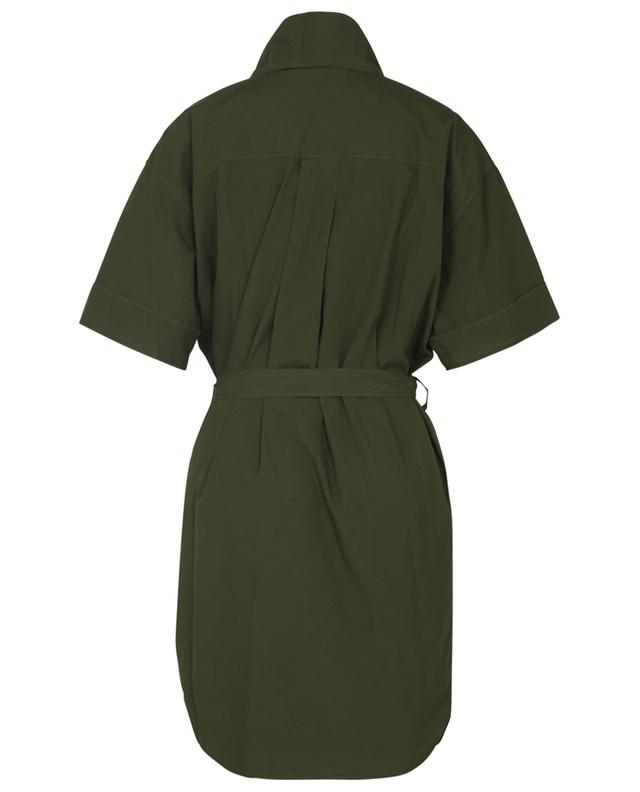 Robe tunique courte en coton esprit utilitaire KENZO