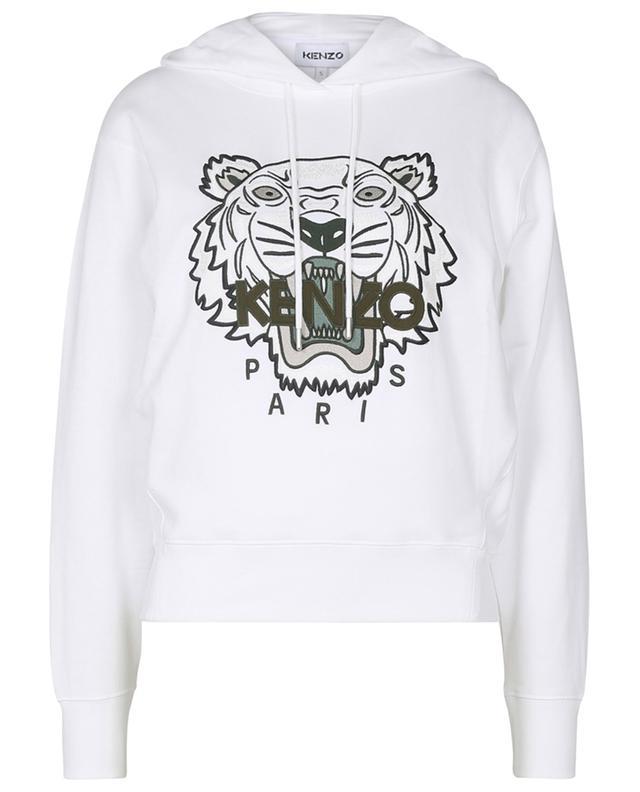 Sweat-shirt à capuche brodé Classic Tiger KENZO