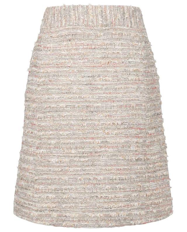 Jupe courte en coton bouclette scintillant SLY 010