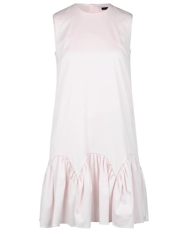 Robe trapèze sans manches en sergé SLY 010