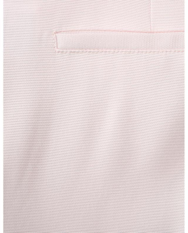 Pantalon évasé à plis en viscose mélangée SLY 010