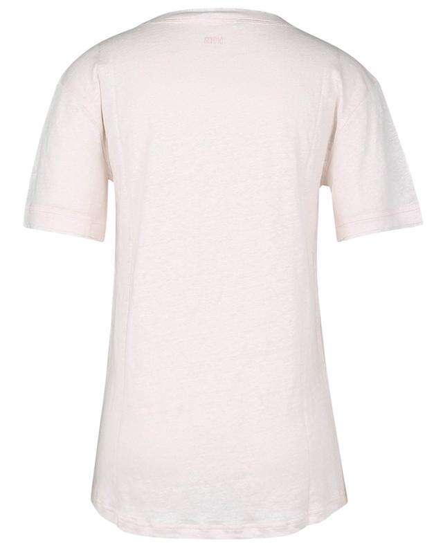 T-shirt en lin à bords francs SLY 010