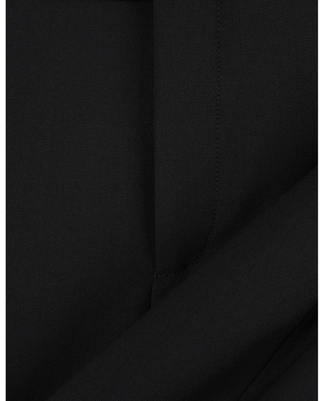 Pantalon raccourci en laine stretch CHLOE