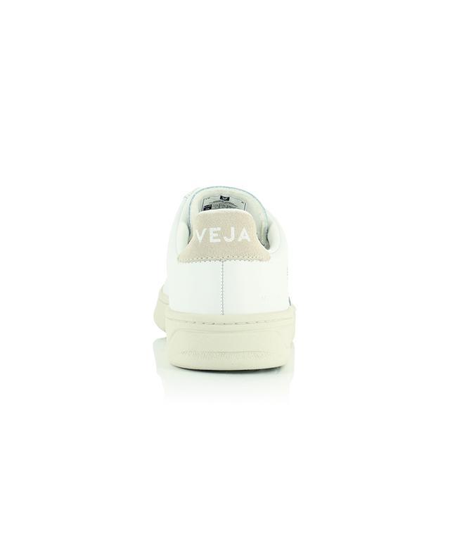Baskets à scratch en cuir extra-blanc V-Lock VEJA