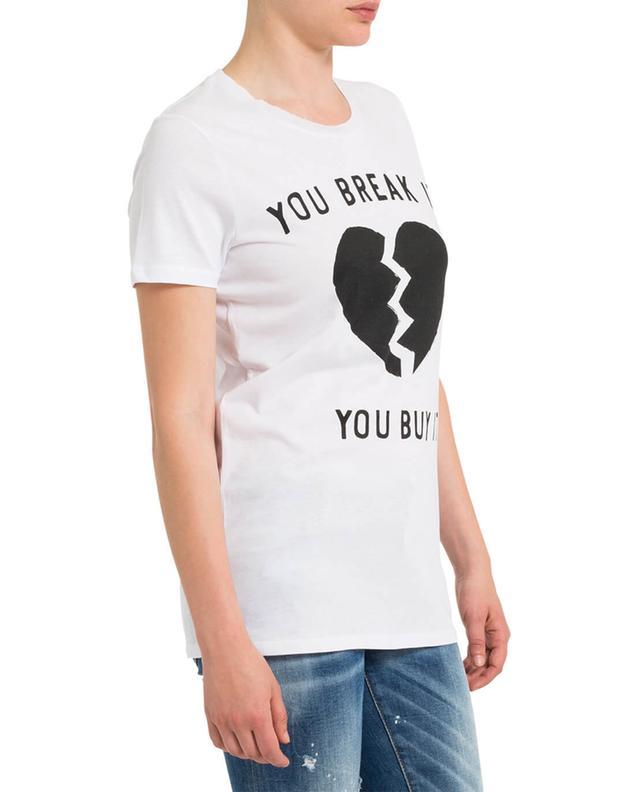 T-Shirt aus Baumwolle und Modal mit Print ZOE KARSSEN