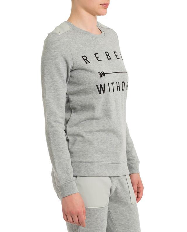 Besticktes Sweatshirt aus Baumwollmix ZOE KARSSEN