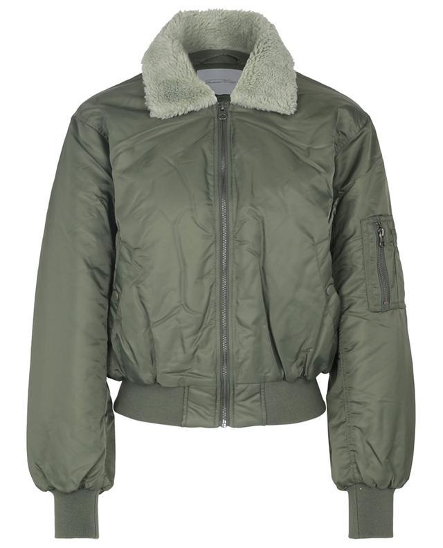 Akocity bomber jacket with fake fur collar AMERICAN VINTAGE