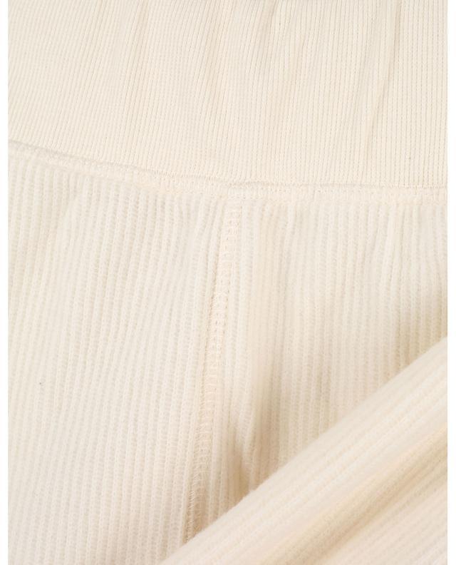 Gerippte Shorts aus Baumwolle mit hohem Bund Narabird AMERICAN VINTAGE