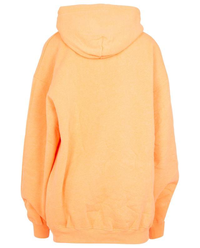 Sweat-shirt oversize orange fluo Languages Medium Fit BALENCIAGA
