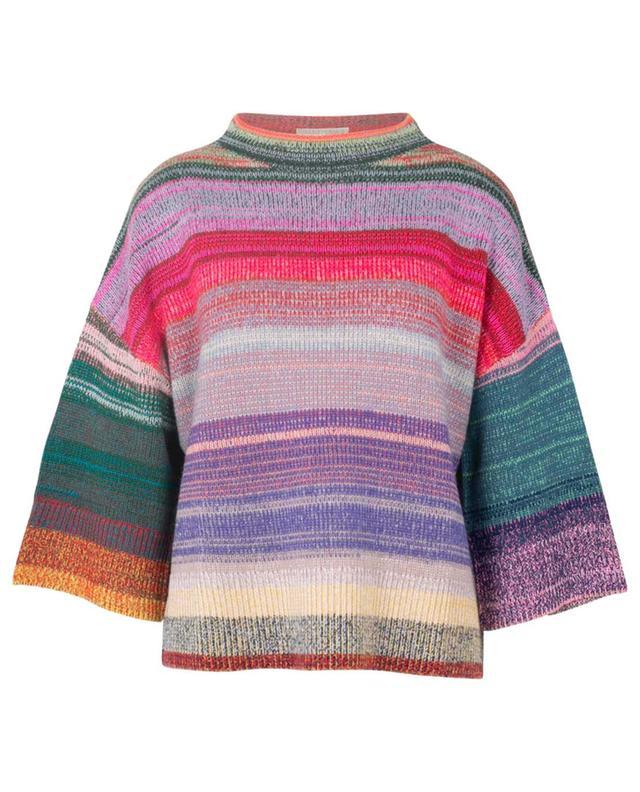 Gestreifter Pullover aus Kaschmir FTC CASHMERE