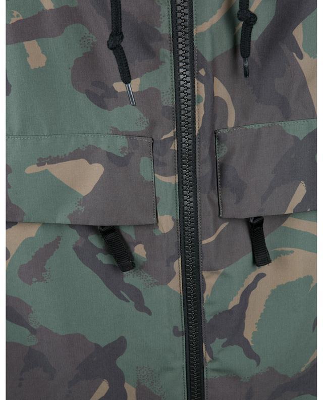 Parka légère imprimée camouflage Samy A.P.C.