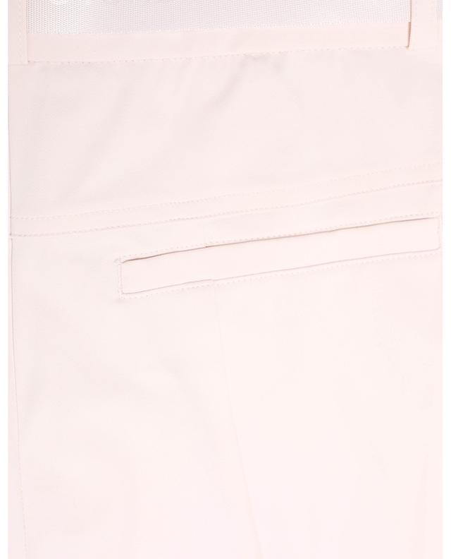 Slim-Fit-Hose aus Gabardine mit Gürtel Rarity CAMBIO