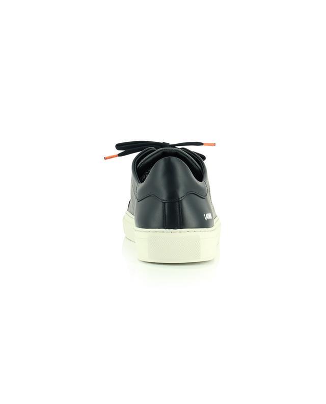 Sneakers aus Glattleder mit Wildleder Einsatz-Clean 90 trip AXEL ARIGATO
