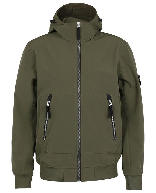 Light Soft Shell-R e-dye Technologie technical fabric jacket STONE ISLAND