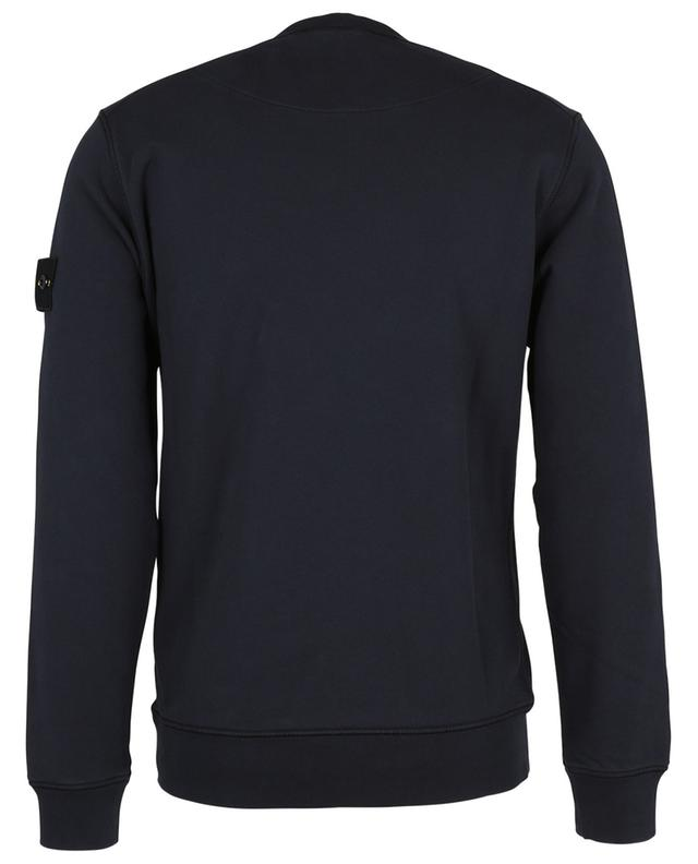 Sweat-shirt à col rond patch bousolle 63051 STONE ISLAND