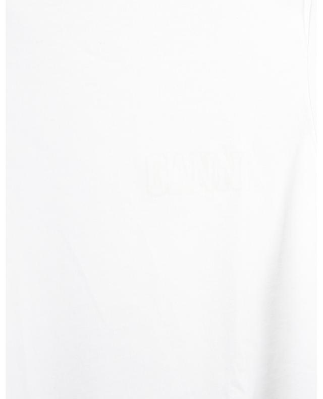 T-shirt imprimé logo en jersey EcoLife Software GANNI