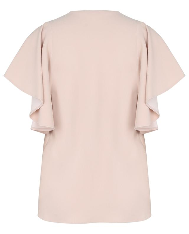 Top à manches courtes en cady durable Mallory STELLA MCCARTNEY