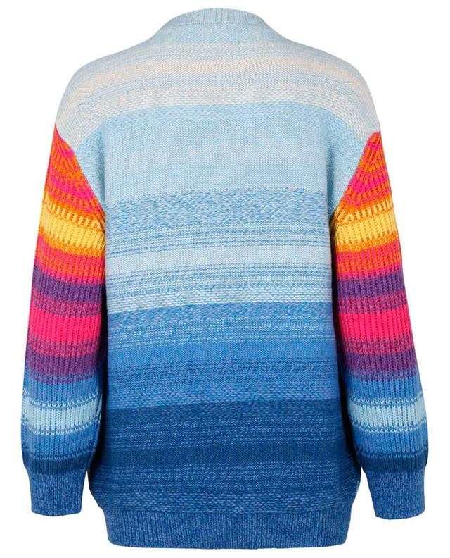 Pull oversize brodé multicolore Kind STELLA MCCARTNEY