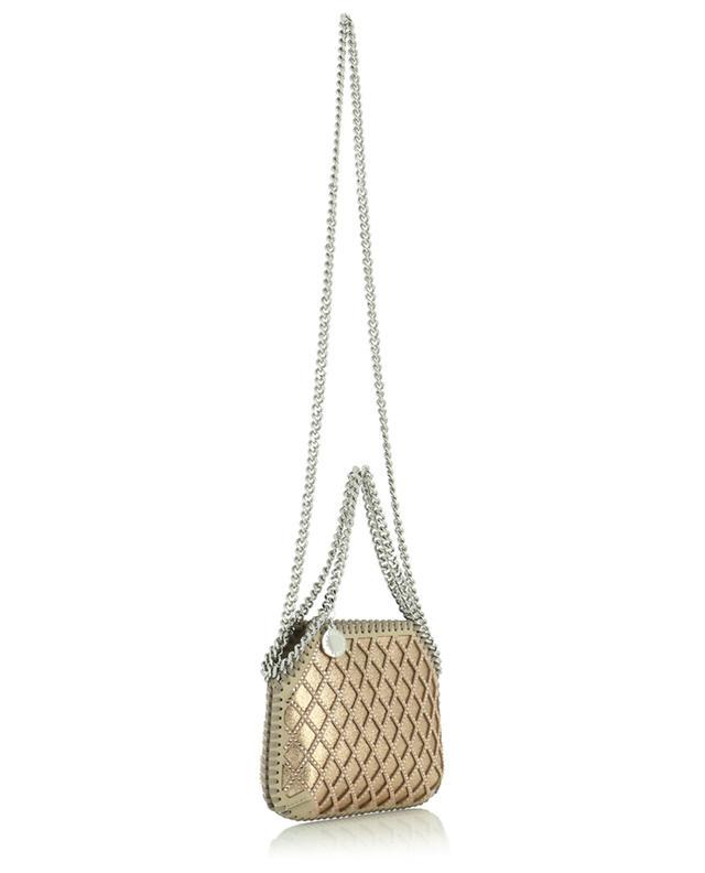 Minitasche aus Glitter-Kunstwildleder mit Kristallen Falabella STELLA MCCARTNEY