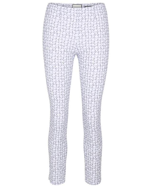 Pantalon slim imprimé maillons de chaîne Sabrina Contrast SEDUCTIVE