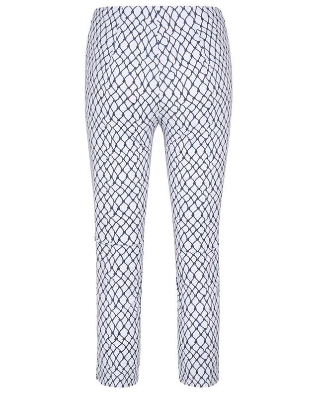 Pantalon stretch imprimé noeuds marins Capri SEDUCTIVE
