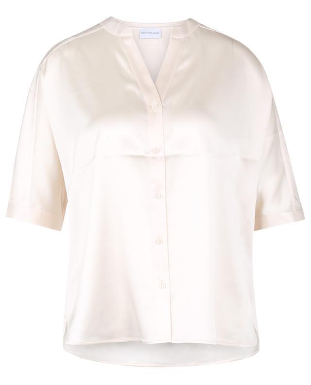 Chemise en soie à manches chauve-souris courtes HERZEN'S ANGELEHEIT