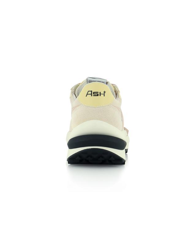 Sneakers aus Mesh, Wildleder und Leder Spider 620 ASH
