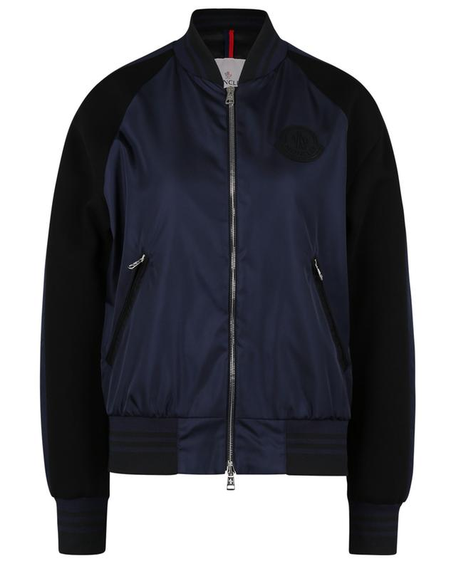Bercot nylon and neoprene lightweight bomber jacket MONCLER