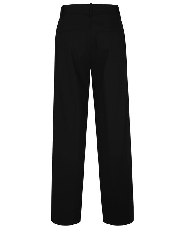 Pantalon large en laine mélangée VINCE