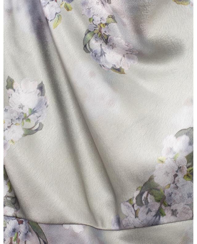 Robe à bretelles à col bénitier Hazy Blossom VINCE