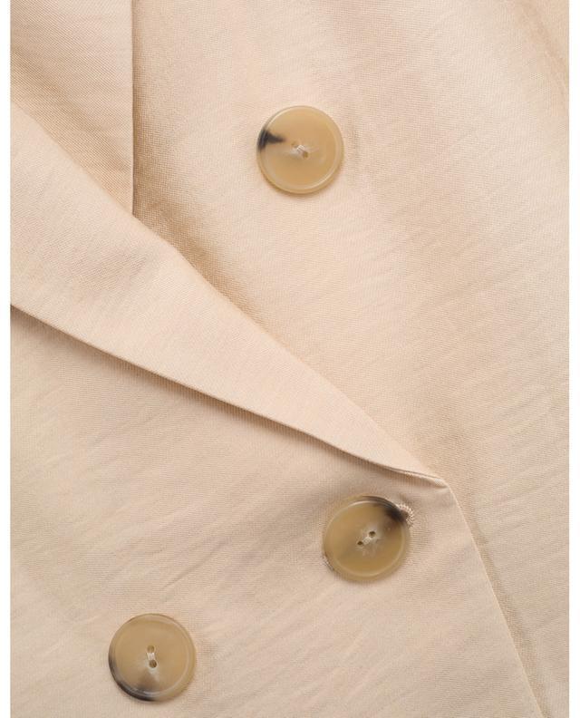 Blazer drapé à double boutonnage VINCE