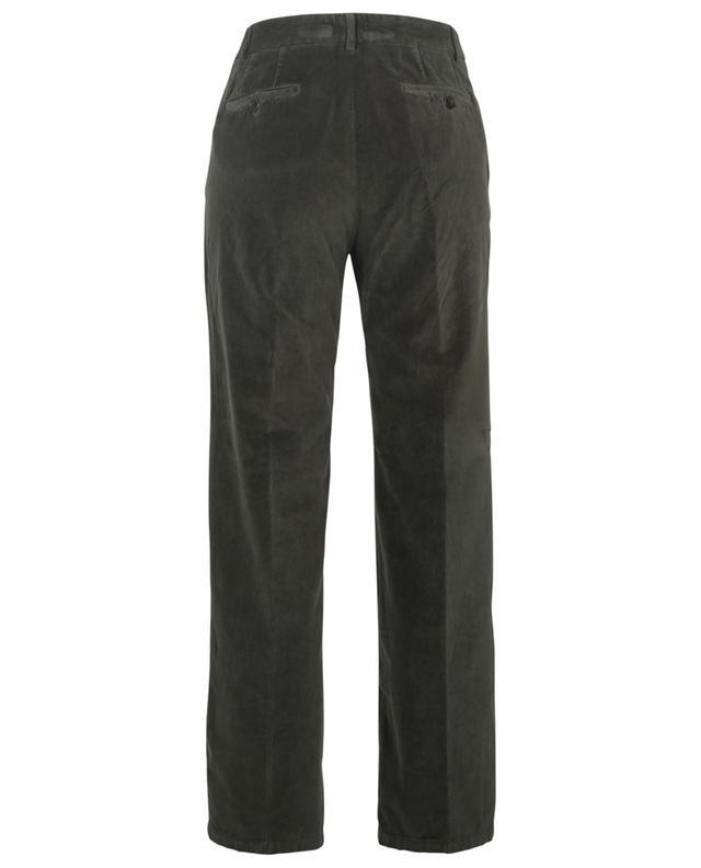 Pantalon droit taille haute en velours Pike HARTFORD