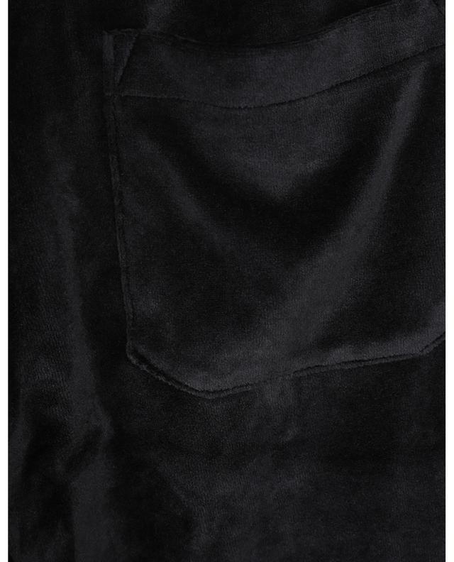 Chemise en coton et soie imprimée tigres Corazon HARTFORD