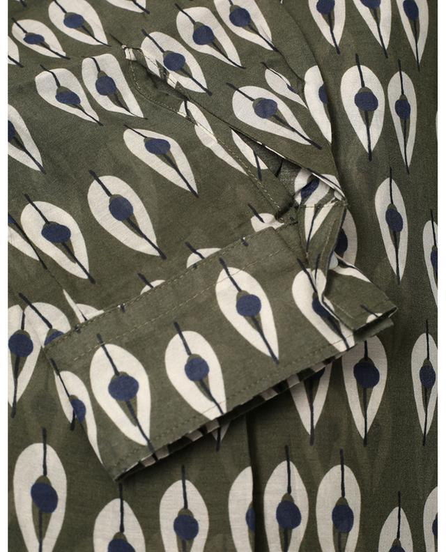 Blouse imprimée en coton et soie Carta Gipsy HARTFORD