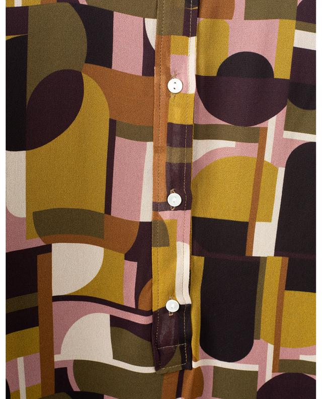 Robe courte oversize imprimé géométrique Reussite HARTFORD