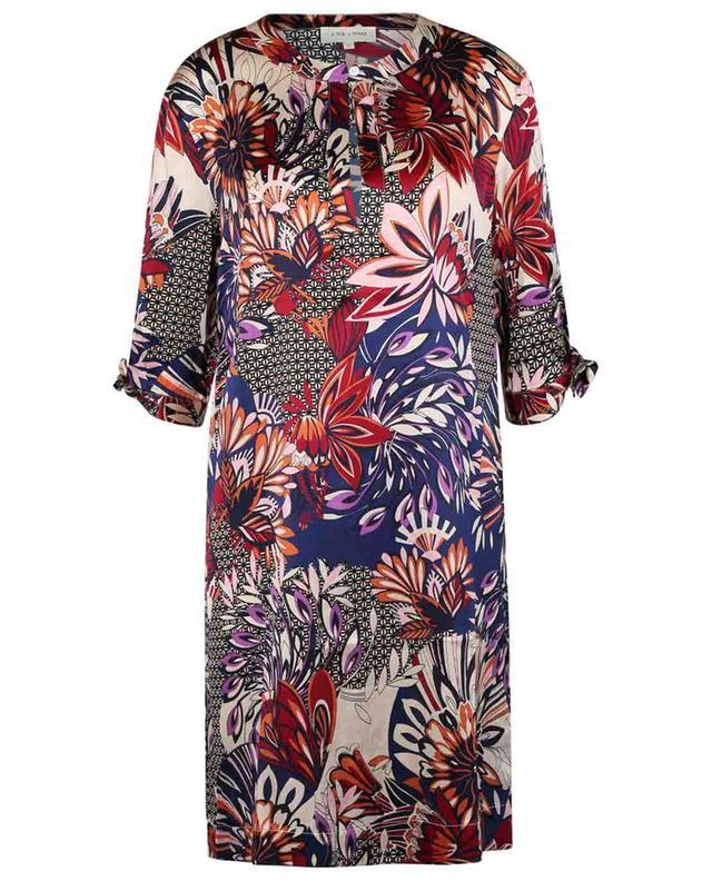 Robe tunique en soie mélangée et imprimé Alba JOYCE & GIRLS