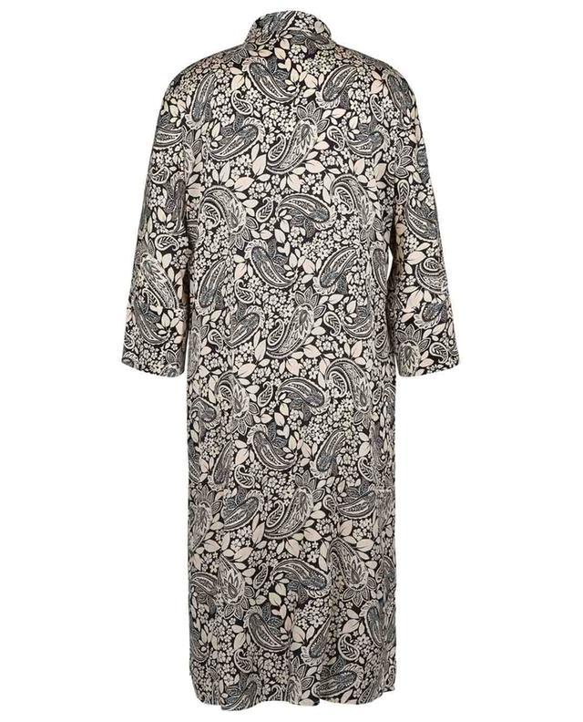 Robe chemise en mélange de soie et imprimé Marche JOYCE & GIRLS
