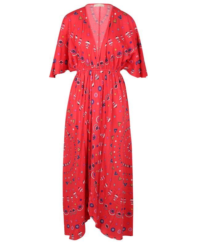 Robe longue en jersey imprimé à fentes Cherilyn MES DEMOISELLES