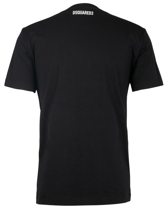 T-shirt en coton imprimé logo DSQUARED2