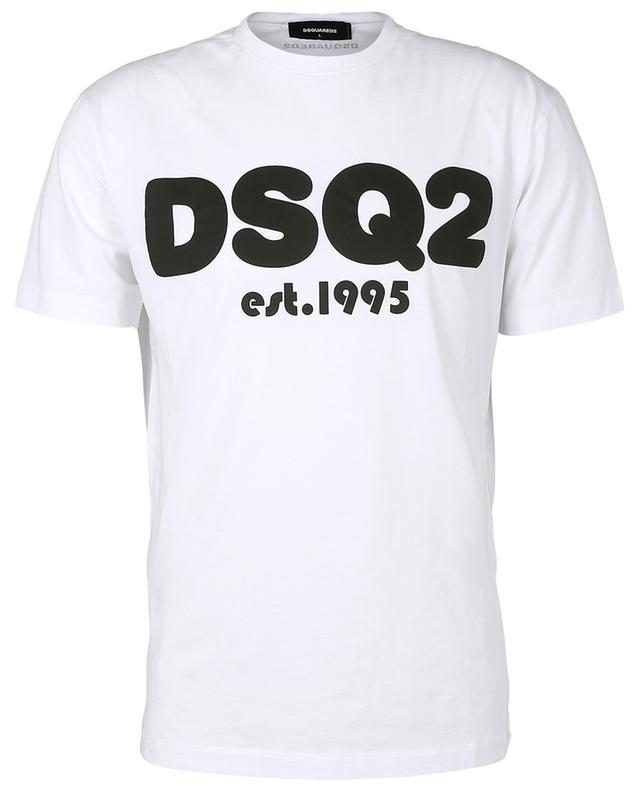 T-shirt en coton à imprimé DSQ2 DSQUARED2