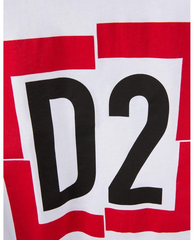 T-Shirt en coton D2 DSQUARED2
